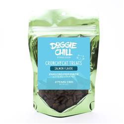 Doggie Chill Grain-Free CBD Crunchy Cat Treats - Salmon - 30-count 2-ounce bag