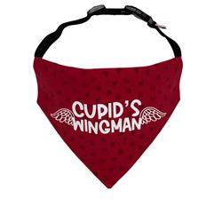 Valentines Day Dog Bandana  - Over the Collar Style -5 Sizes |  BUY 10 GET 1 FREE