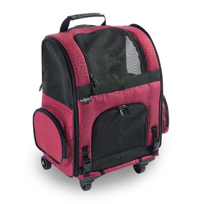 RC1000 Red Roller-Carrier for Pets up to 10 lbs.