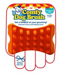 Comfy Dog Brush - Short Haired Coats (RED)