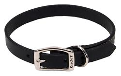 Circle T® Oak Tanned Leather Town Dog Collar
