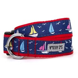 Sailboats Collar & Lead Collection