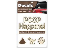 POOP HAPPENS! Pick It Up And Move On - Decal Sheet