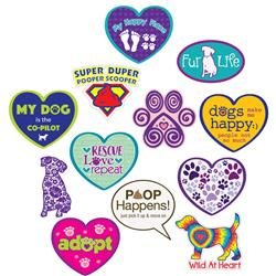 """3"""" Sticker Assortment with Display"""