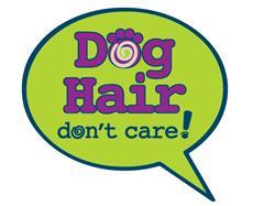 """Dog Hair….Don't Care - 3"""" Sticker"""