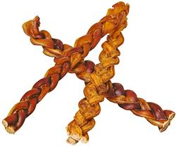 Red Barn Braided Bully Stick 12 in