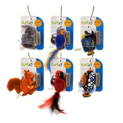 Turbo® Lifelike Catnip Toy Display (12 pieces)