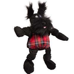 Totally Tartan Scotch Scottie Knottie Plush Durable Dog Toy