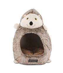 HEDGEHOG SHAPE CAT HUT