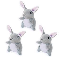 3 Pack Miniz Bunnies by Zippy Paws