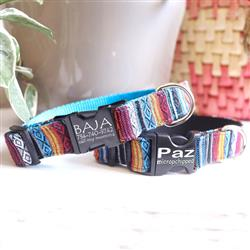 BAJA Sarape Fabric Dog Collar