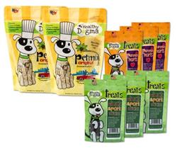 Happy Dog Bundle - Stock and SAVE - 2 Bags of PetMix, 6 Bags of Treats