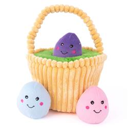 Easter Egg Basket Burrow by Zippy Paws