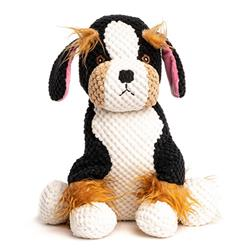 fabdog Floppy Tri Colored Dog Toy