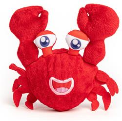fabdog Crab faball Squeaky Dog Toy