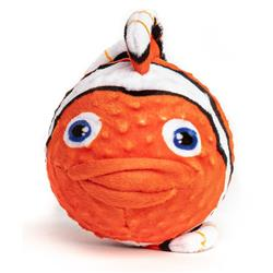 fabdog Clown Fish faball Squeaky Dog Toy