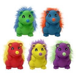 MULTIPET LATEX HEDGEHOGS 4.5 INCHES