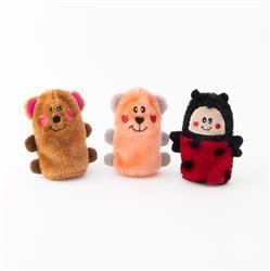 Valentine's Squeakie Buddies - Pack of 3