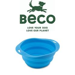 BECO - Pet Travel Bowls (Silicone) - Eco-Friendly