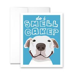 Do I Smell Cake? (blank) Greeting Card - Pack of 6 cards