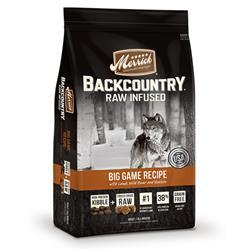 Merrick Backcountry Dog  Raw Infused Big Game Recipe 4 LB