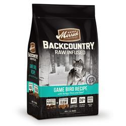 Merrick Backcountry Dog Raw Infused Game Bird Recipe 12 LB