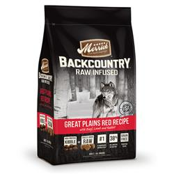 Merrick Backcountry Raw Infused Great Plains Red Recipe 4 LB