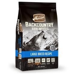 Merrick Backcountry Raw Infused Large Breed Recipe
