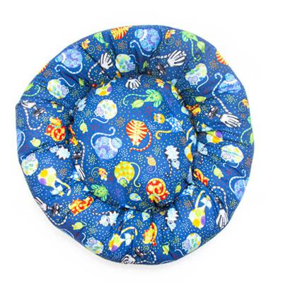Catmosphere Cotton Fabric Round Pet Bed