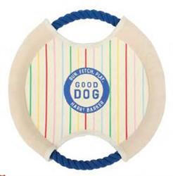 Good Dog Canvas Frisbee Toy