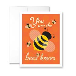 You are the Bees Knees (blank) Greeting Card - Pack of 6 cards