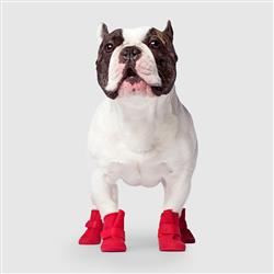 Unlined Wellies - Red