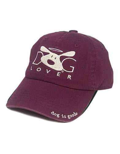 Hat: Dog Lover (Plum)
