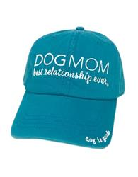 Hat: Dog Mom (Turquoise)