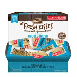 Merrick Fresh Kisses Mint Breath Strips Dental Chews (Singles)