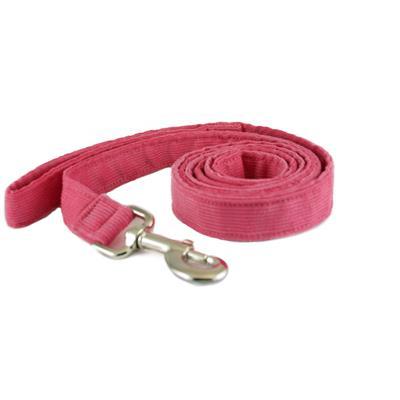 Hemp Corduroy Collar, Leashes, Harnesses PINK