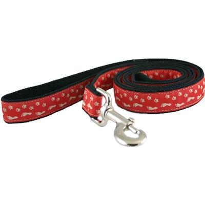 Hemp Collars, Leashes BFF Red
