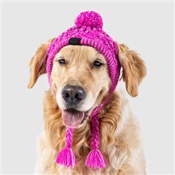 Polar Pom Pom Hat - Pink