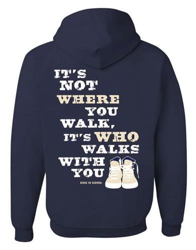 Hoodie: Never Walk Alone