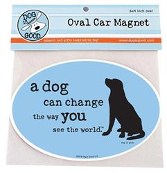 Car Magnet: A Dog Can Change the way You see the world