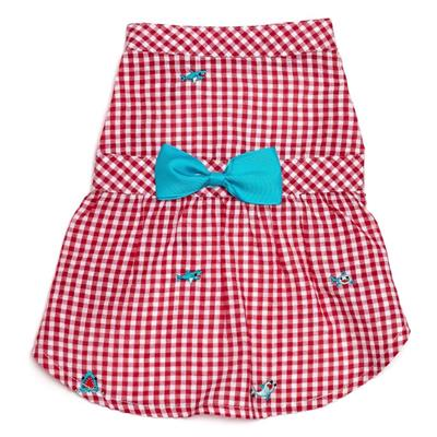 Gingham Chomp Dress
