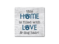 This Home Is Filled With Love - Single Square Coaster 6 pk