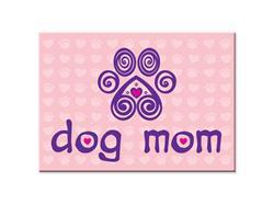 "Dog Mom -  3.5"" x 2.5"" Magnets"