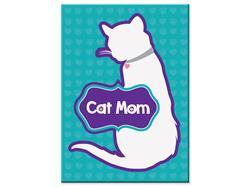 "Cat Mom-  3.5"" x 2.5"" Magnets"