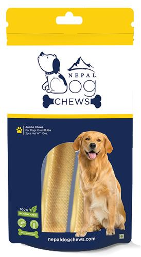 Jumbo Chews | 10oz Retail Ready Package (2 chews)