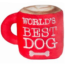 World's Best Dog by Lulubelles Power Plush