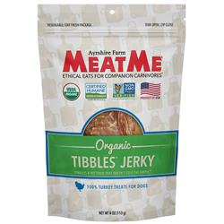 Organic Tibbles — Turkey Jerky, 4 oz. Bag