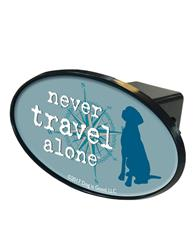 Trailer Hitch Cover: Never Travel Alone