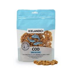 Mini Cod Fish Chips for Training / Small Dogs Fish Treats by Icelandic+