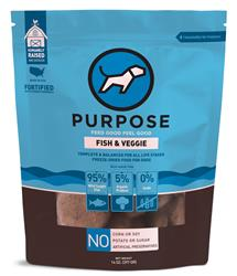Purpose Freeze-Dried Fish & Veggie Dog Food, 14oz. Pattys